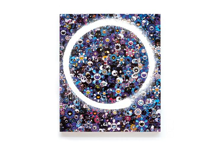 Takashi Murakami Ensō Paintings @ Galerie Perrotin Booth Art Basel 2015 Preview
