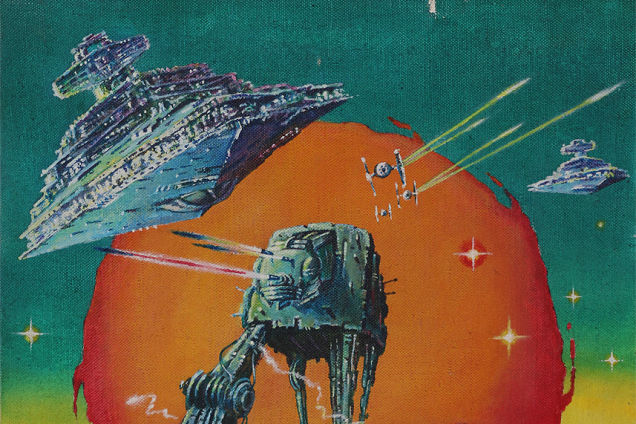 Original Art Behind Extremely Rare Hungarian 'Star Wars' Posters Are Auctioned Off