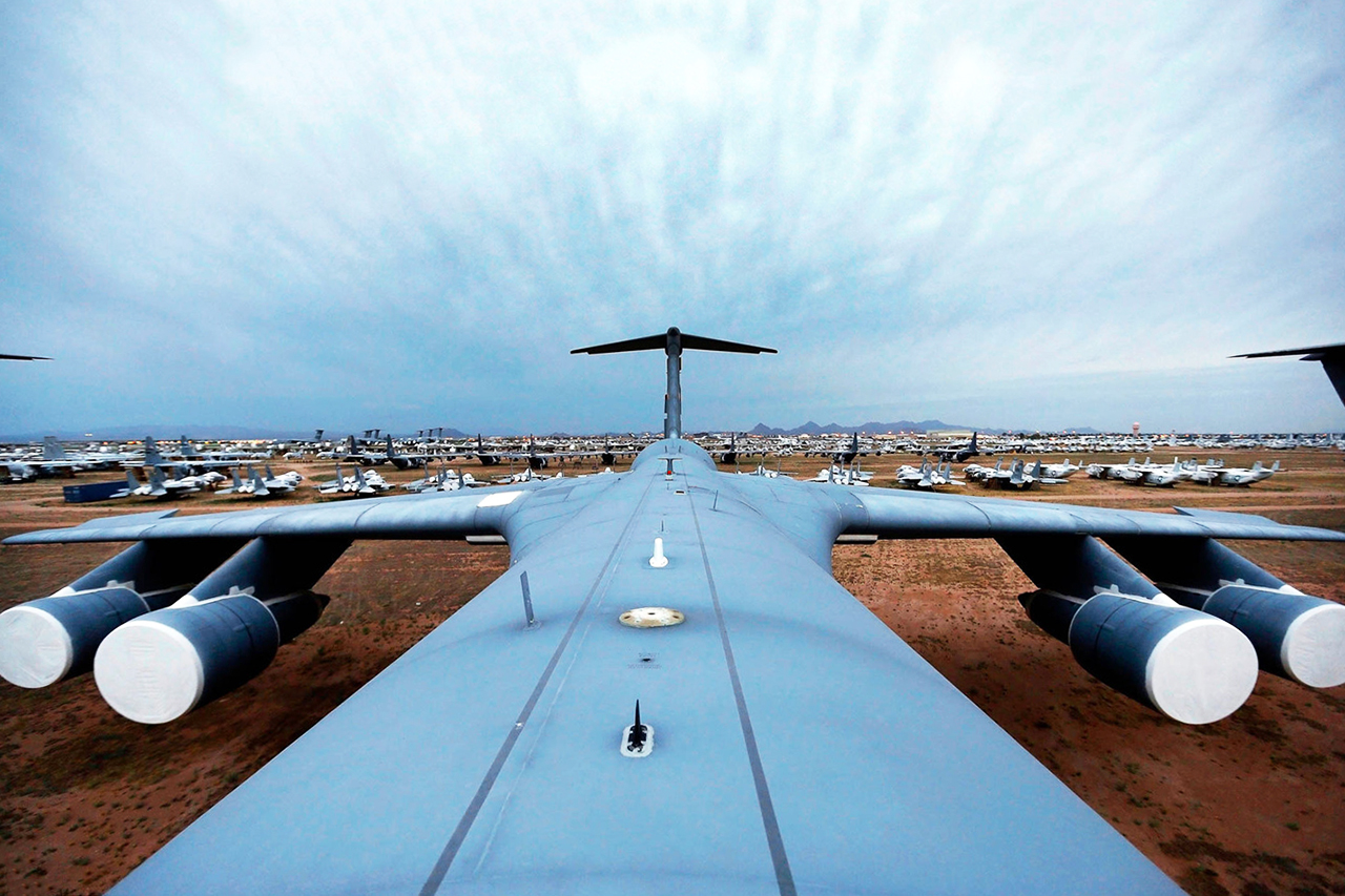 The Boneyard: Where Airplanes Go to Die