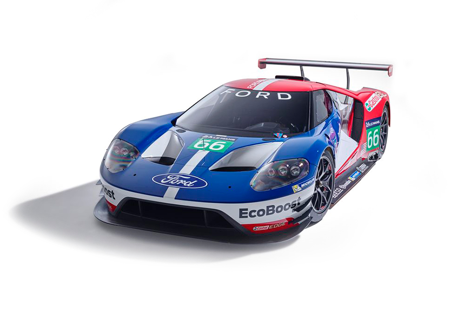 The Ford GT for 2016 Le Mans Is Unveiled