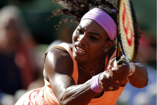 The French Open 2015's Grunts Set to Music