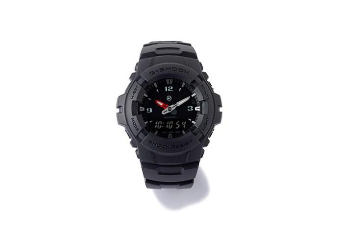 """the POOL aoyama x Casio G-Shock Limited Edition """"G-100-1BJF"""" Watch"""