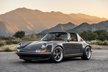 The Porsche 911 Targa by Singer Design
