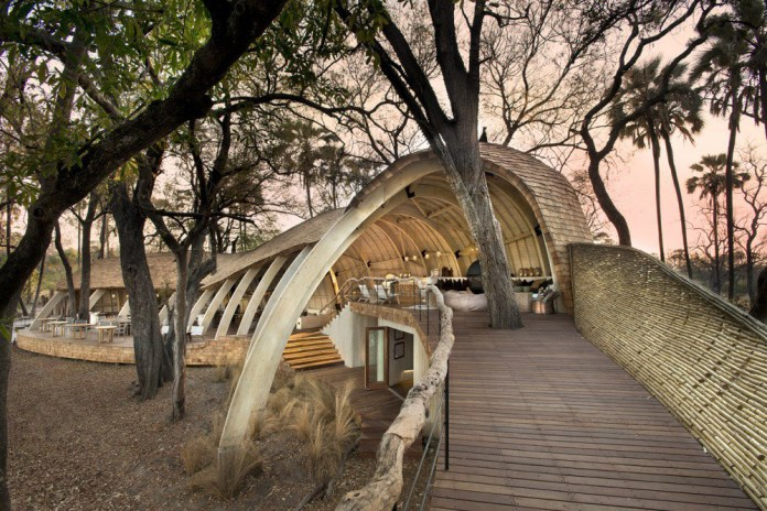 The Sandibe Okavango Safari Lodge Is in One of the Seven Wonders of Africa