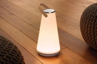 The UMA Sound Lantern Portable Light and Wireless Speaker