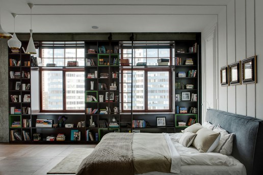 This Kiev Apartment Exhibits Playful Use of Open Spaces