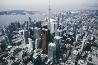 trashhand Offers up a Bird's Eye View of Toronto