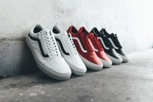 Vans 2015 Premium Leather Old Skool Zip Collection