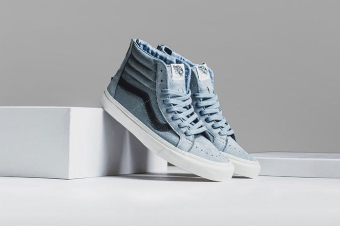 Vans 2015 Premium Leather Sk8-Hi Zip Collection
