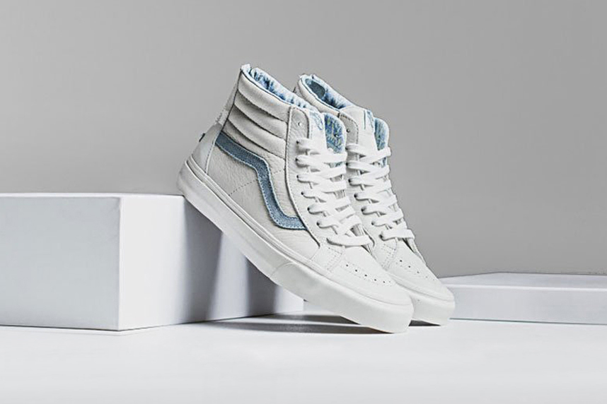 vans sk8 hi zip leather