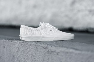 "Vans Perf Leather Era ""True White"""