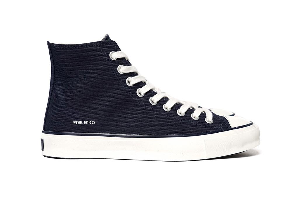 WTAPS Hi Top Canvas Sneaker 02