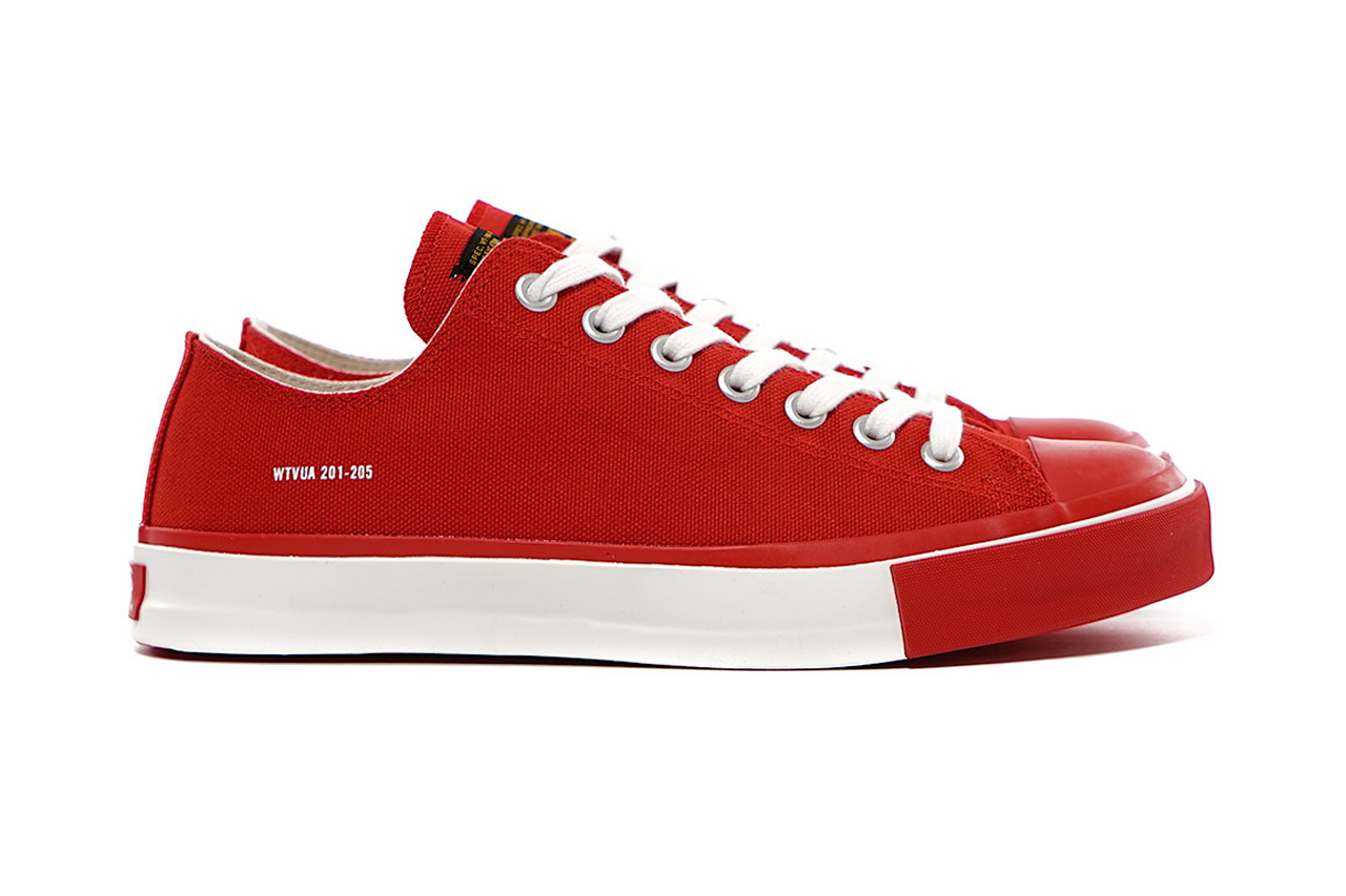 WTAPS Low Top Canvas Sneaker 01