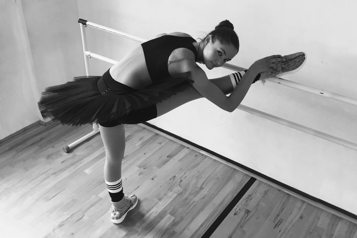 XHIBITION Taps Ballet Dancer to Try out the Yeezy Boost 350