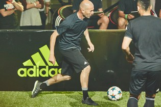 Zinedine Zidane Launches adidas Soccer Centre in Berlin