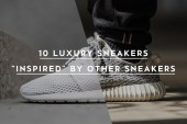 """10 Luxury Sneakers """"Inspired"""" by Other Sneakers"""