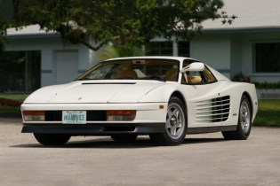 1986 Ferrari Testarossa From 'Miami Vice' up for Auction