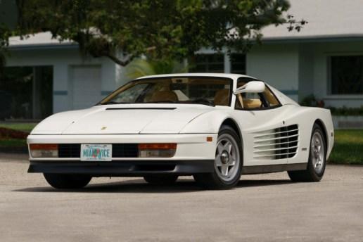 1986 Ferrari Testarossa From 'Miami Vice' up for Auction