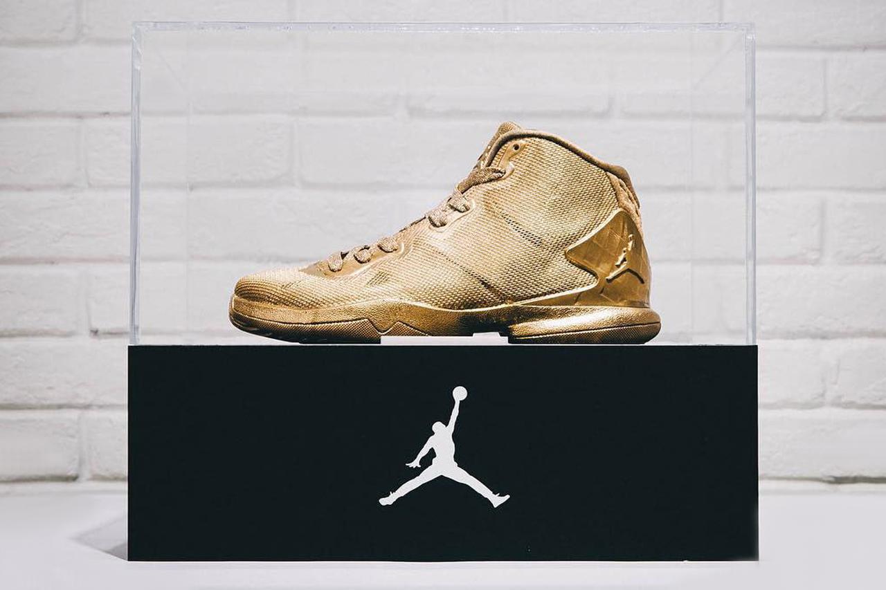 23 Karat Gold Jordan Super.Fly 4