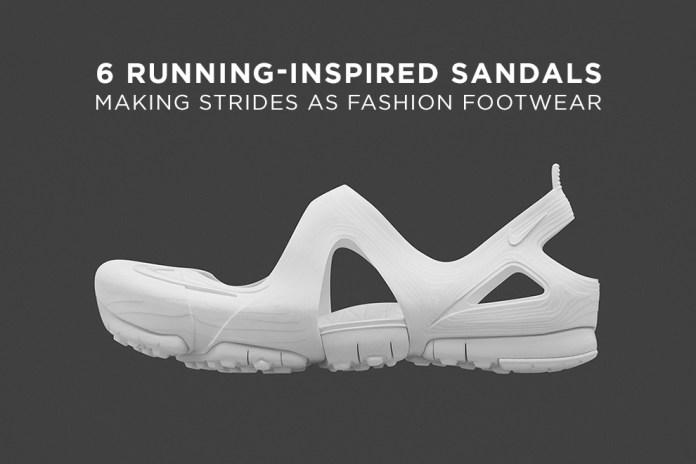 6 Running-Inspired Sandals Making Strides as Fashion Footwear