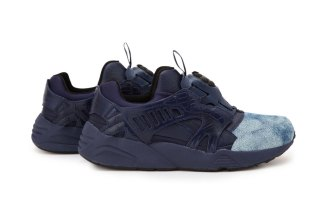 "5525gallery x UNITED ARROWS & SONS by PUMA Disc Blaze ""Indigo"""