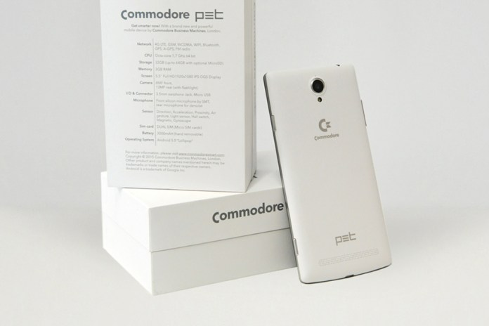 '80s Computer Maker Commodore Returns With an Android Smartphone
