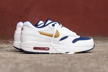 """A Closer Look at the Nike Air Max 1 Essential """"Olympic"""""""