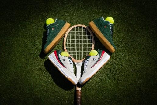 "A First Look at the Packer Shoes x International Tennis Hall of Fame x FILA Original Tennis ""ATP Newport"" Pack"