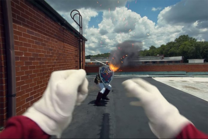 A First-Person View of a Super Smash Bros. Battle