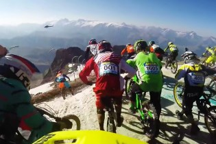 A Look at the Intense Megavalanche Bike Race