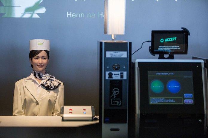 A Look Inside Japan's First Robot-Run Hotel