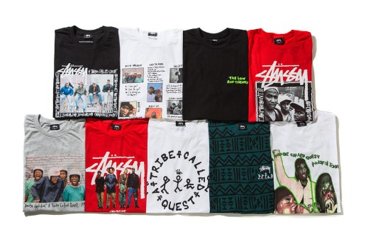 A Tribe Called Quest x Stussy Collection