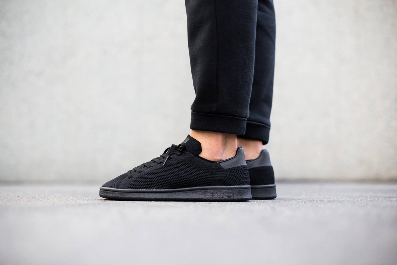 "adidas Originals Stan Smith Primeknit ""Core Black"""
