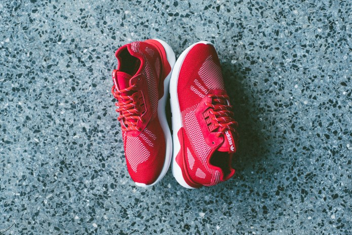 "adidas Originals Tubular Runner Weave ""Scarlet"""