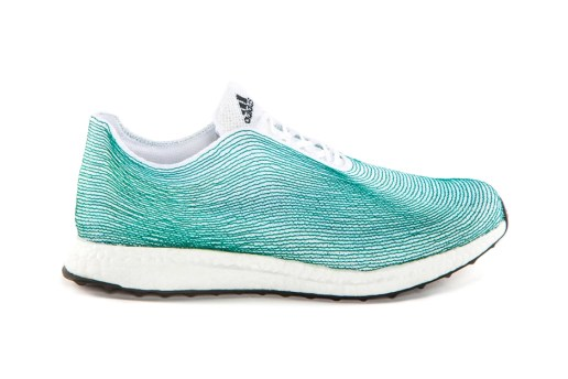 adidas Unveils the World's First Shoe Upper Made Completely From Ocean Waste