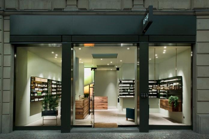 Aesop Frankfurt Store Designed by German Architect Phillipp Mainzer