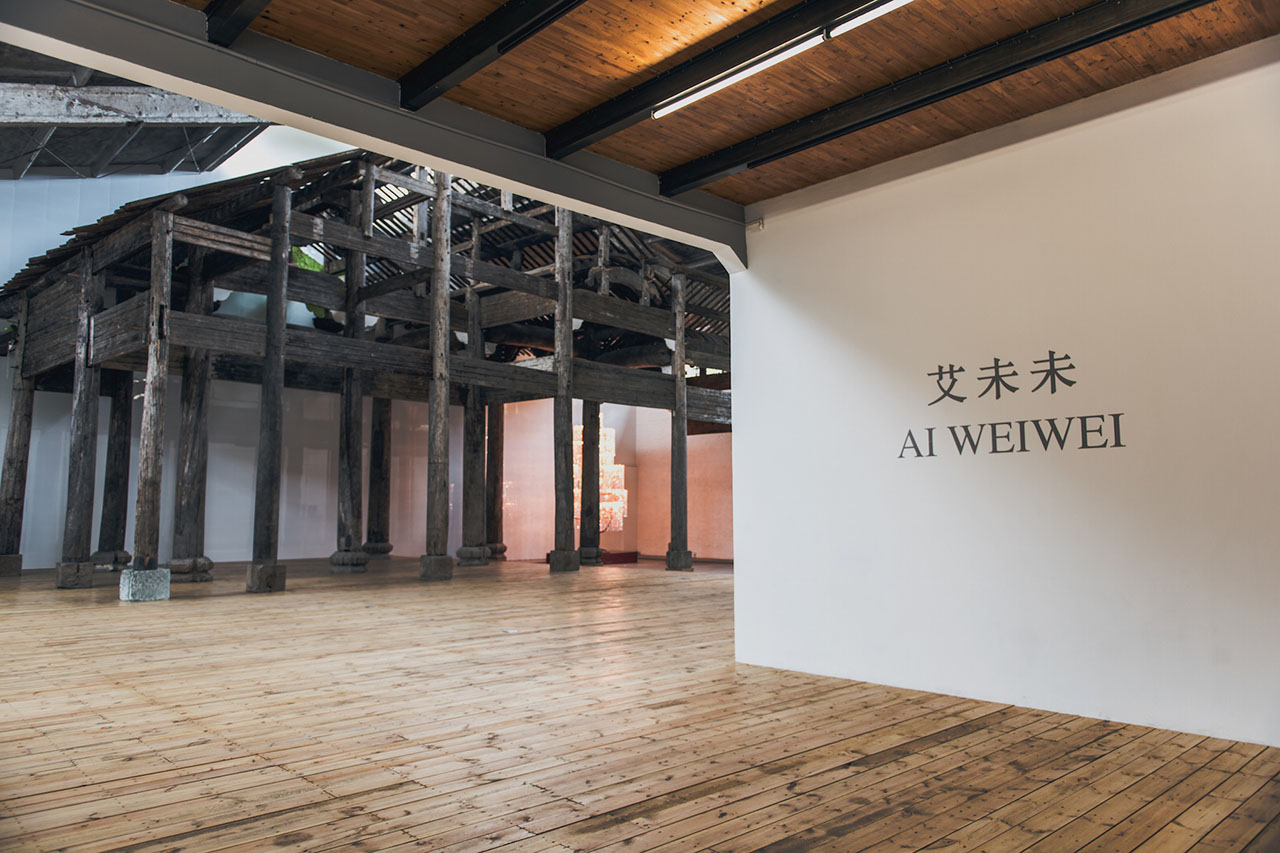 "Ai Weiwei ""Ai Weiwei"" Exhibition @ Galleria Continua & Tang Contemporary Art Center in Beijing"