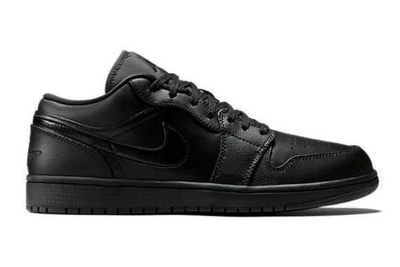 Air Jordan 1 Low Black/Black