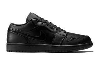 Air Jordan 1 Low Black/Black