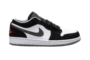 Air Jordan 1 Retro Low Black/Infrared