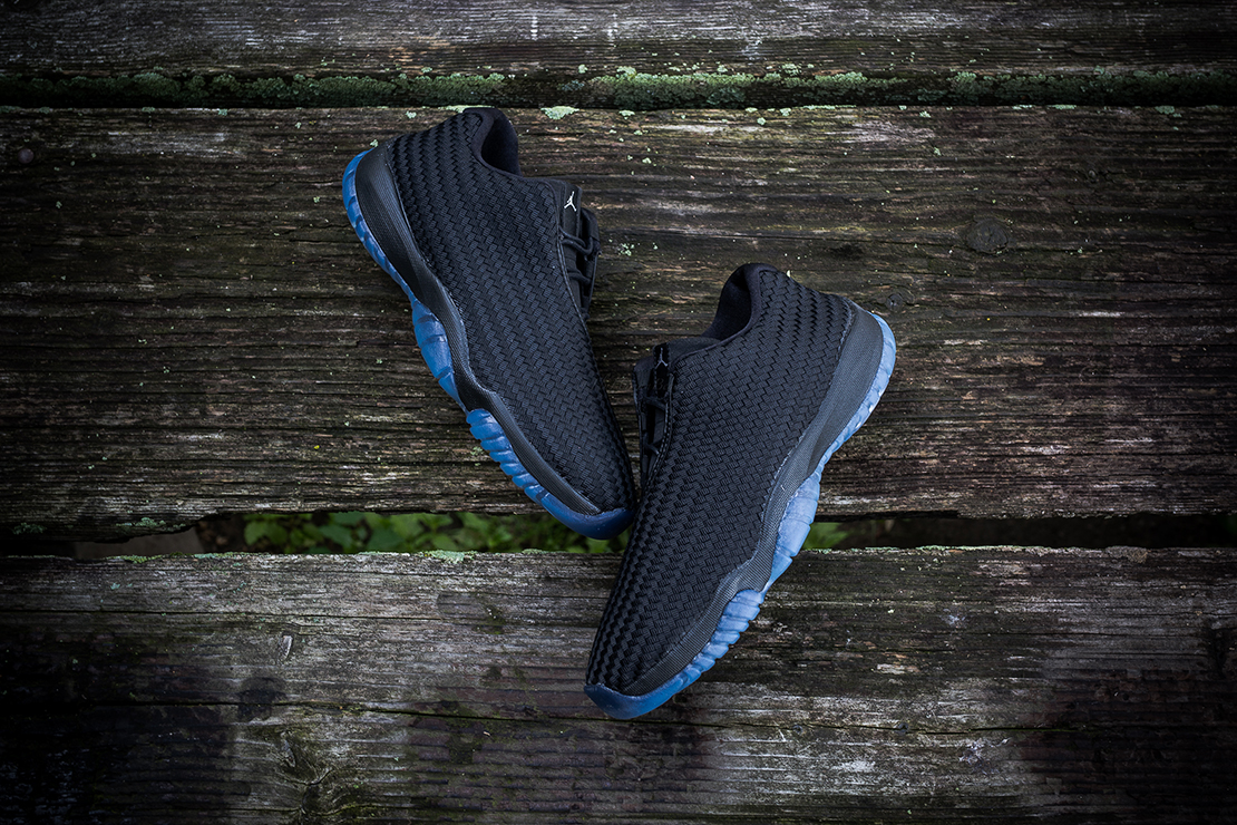Air Jordan Future Low Black/Metallic Silver
