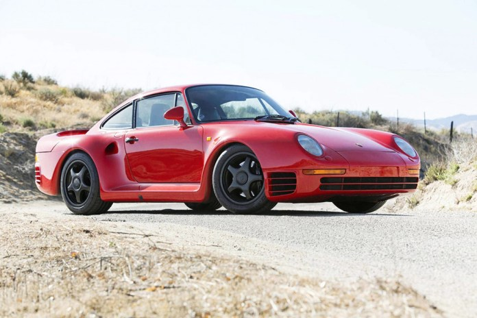America's First Ever Street Legal Porsche 959 up for Auction