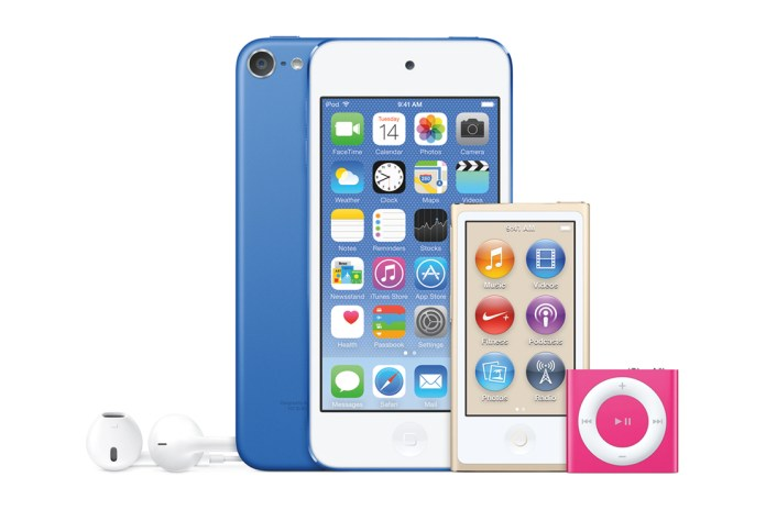 Apple Refreshes its iPod Lineup