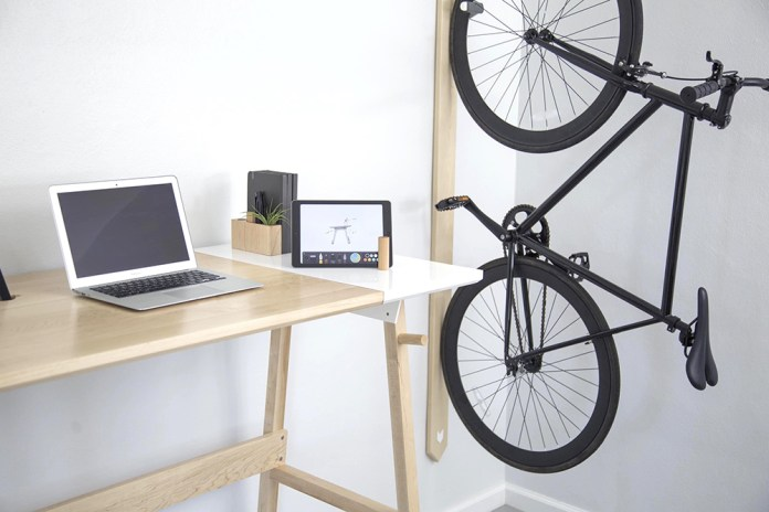 ARTIFOX Standing Desk and Bike Rack