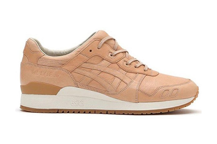 ASICS GEL-Lyte III Vegetable-Tanned Leather $500 USD Sneakers