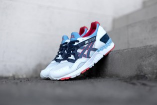 "ASICS GEL-Lyte V ""Soft Gray/Navy"""