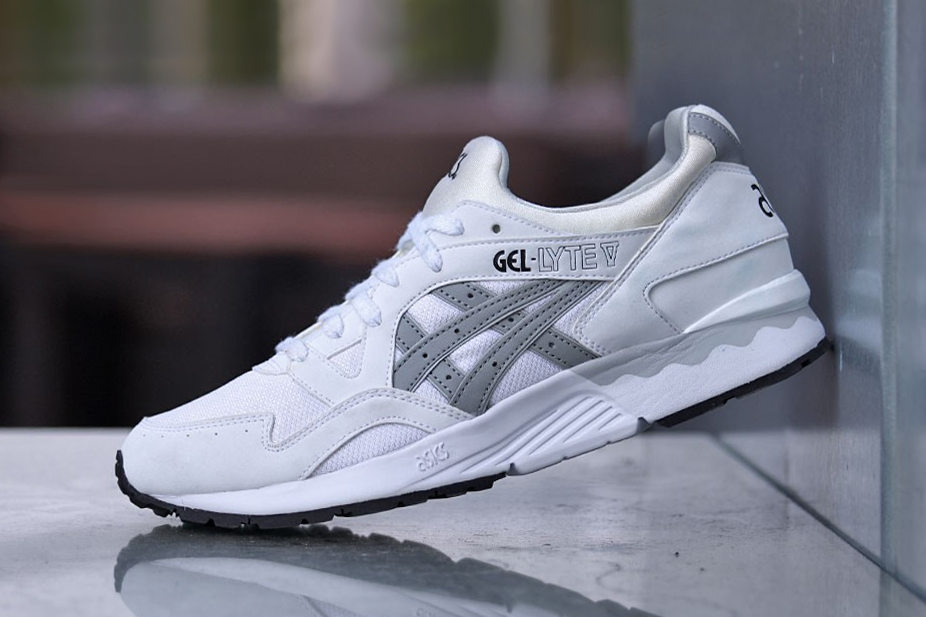 asics gel lyte v white hypebeast. Black Bedroom Furniture Sets. Home Design Ideas
