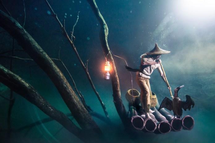 Ballantine's Presents Benjamin Von Wong's Underwater River
