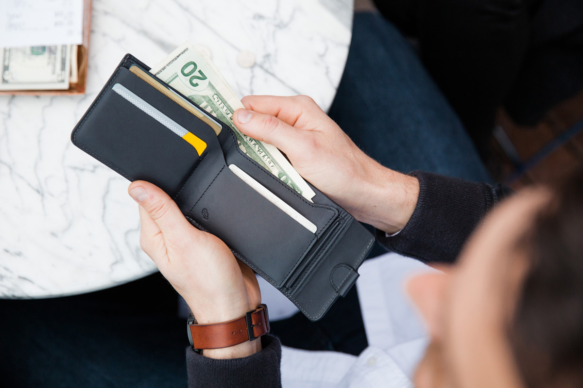Bellroy Introduces the Minimalist Coin Fold Wallet