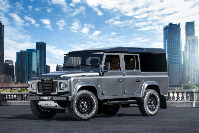 Brabus Startech Bids Farewell to the Legendary Land Rover Defender